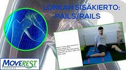 Lonkan Liikkuvuus: Sisäkierto (PAILS/RAILS)