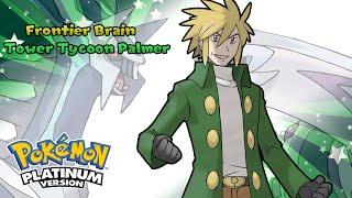 Pokemon Platinum - Battle! Frontier Brain Music (HQ)