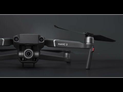 DJI MAVIC 2 ZOOM Quick Test Fly 4K Video Footage
