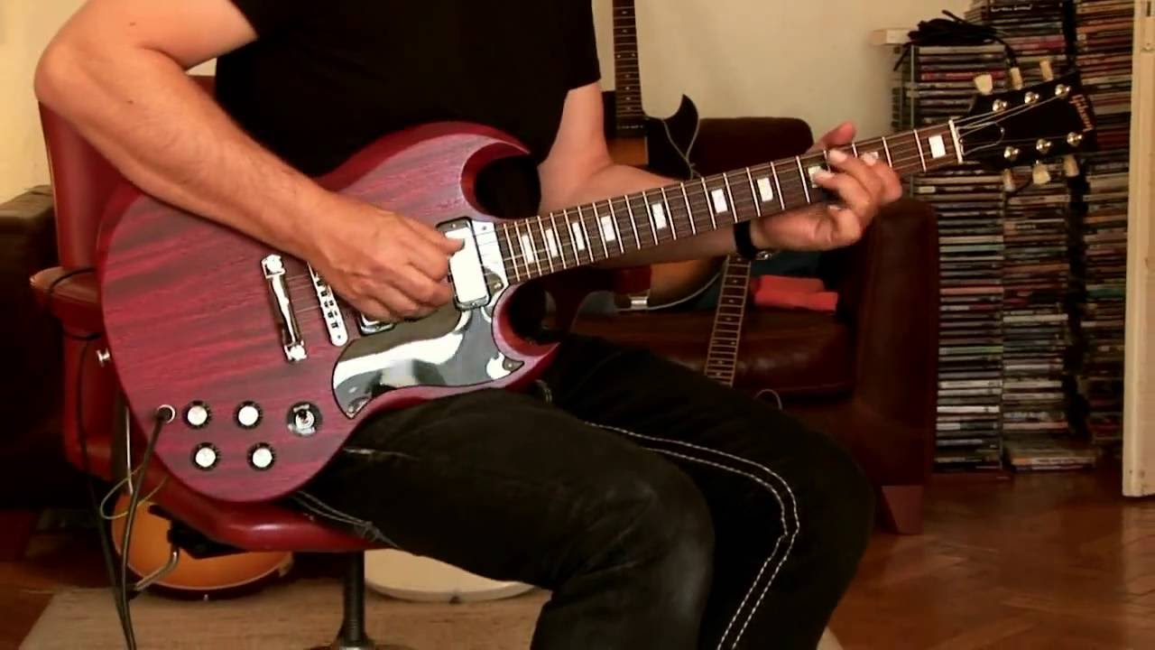2016 Gibson SG Special T Faded satin cherry