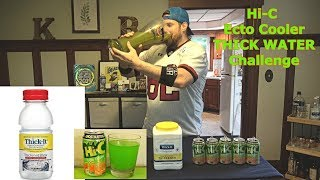 Hi-C Ecto Cooler THICK WATER Challenge (Inspired By: BadlandsChugs & Furious Pete) | L.A. BEAST
