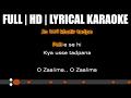 Zaalima Karaoke HD-AUDIO