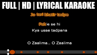 Zaalima Karaoke HD-AUDIO