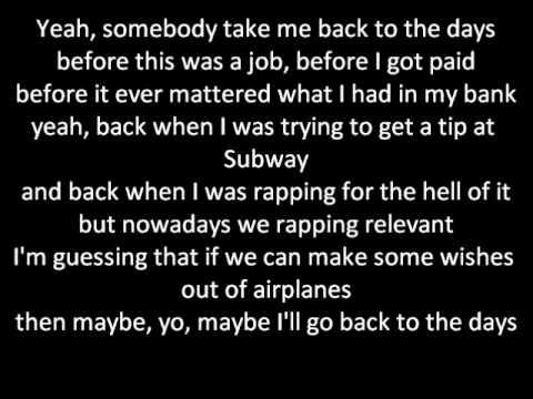 Airplanes-B.o.B. & Hayley Williams (Lyrics) Part 1