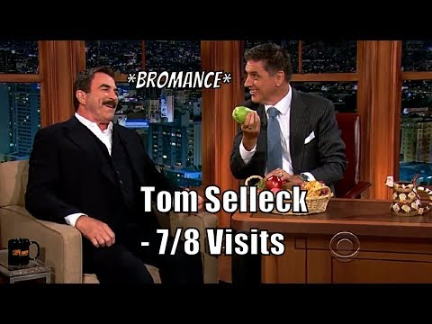 Tom Selleck -  His Wife Is A Big Fan Of Craig - 7/8 Appearances In Chronological Order