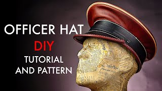 Officer Hat DIY - Tutorial and Pattern Download