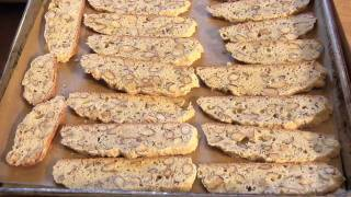 The Best Almond Biscotti