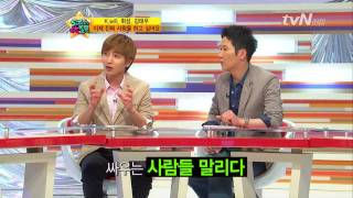 20110527 K.Will on 5000 Questions (with Wheesung and Kim Tae Woo) 1-3