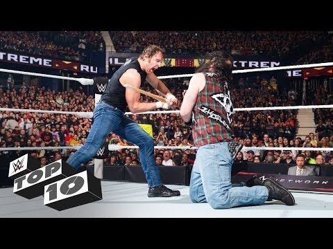 Thumbnail: WWE Extreme Rules lethal weapons - WWE Top 10