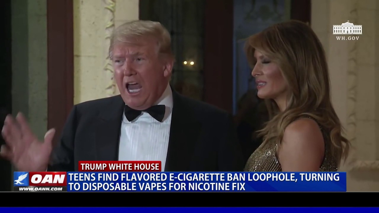 Teens find e-cigarette ban loophole, turn to disposable vapes for nicotine fix - OAN
