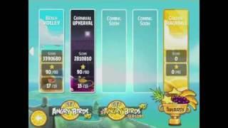 Angry Birds Rio Golden Beachball