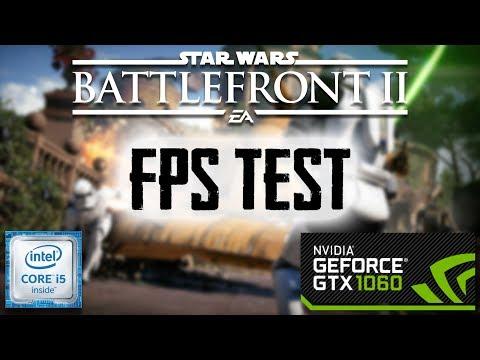 Starwars Battlefront 2 - I5 6400 | GTX 1060 - 1080p