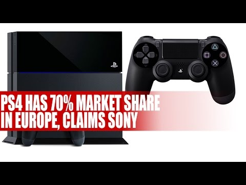 Playstation 4   PS4 Has 70% Market Share In Europe, Claims Sony - Bold Claim