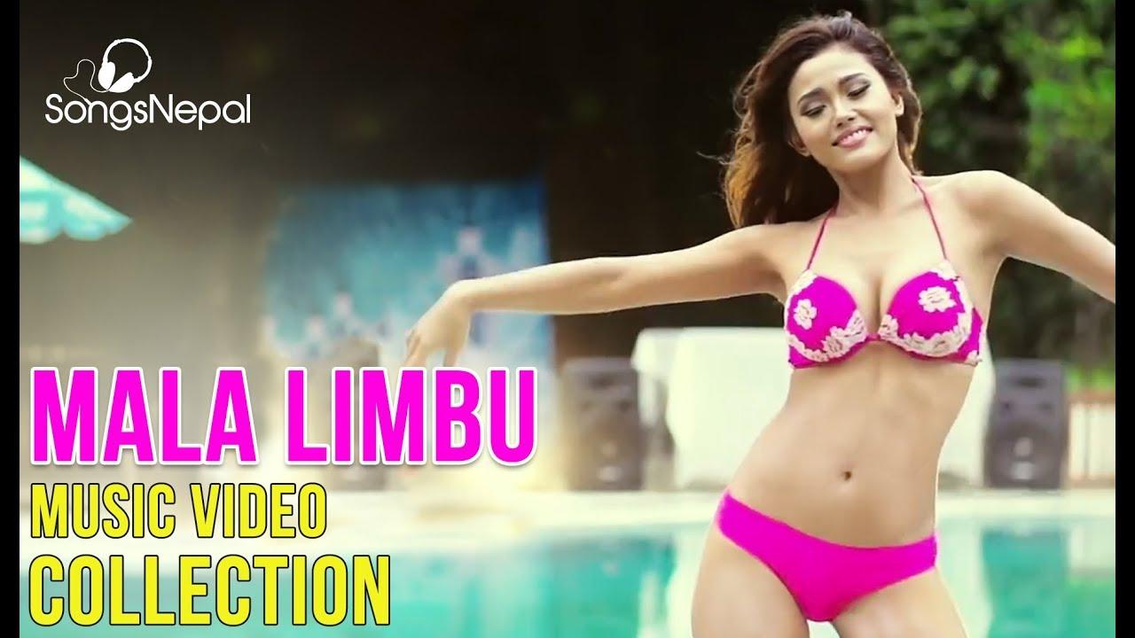 Hit Nepali Songs Collection Of Hot Mala Limbu  Mala Limbu -3861
