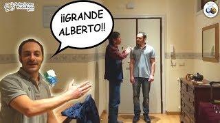 ¡GRANDE ALBERTO! |  Eliminando el dolor de espalda en Roma, Italia con Alberto Gauthereau