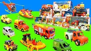 Feuerwehrmann Sam: Feuerwehrautos, Krankenwagen & Hubschrauber der Pontypandy Feuerwehr