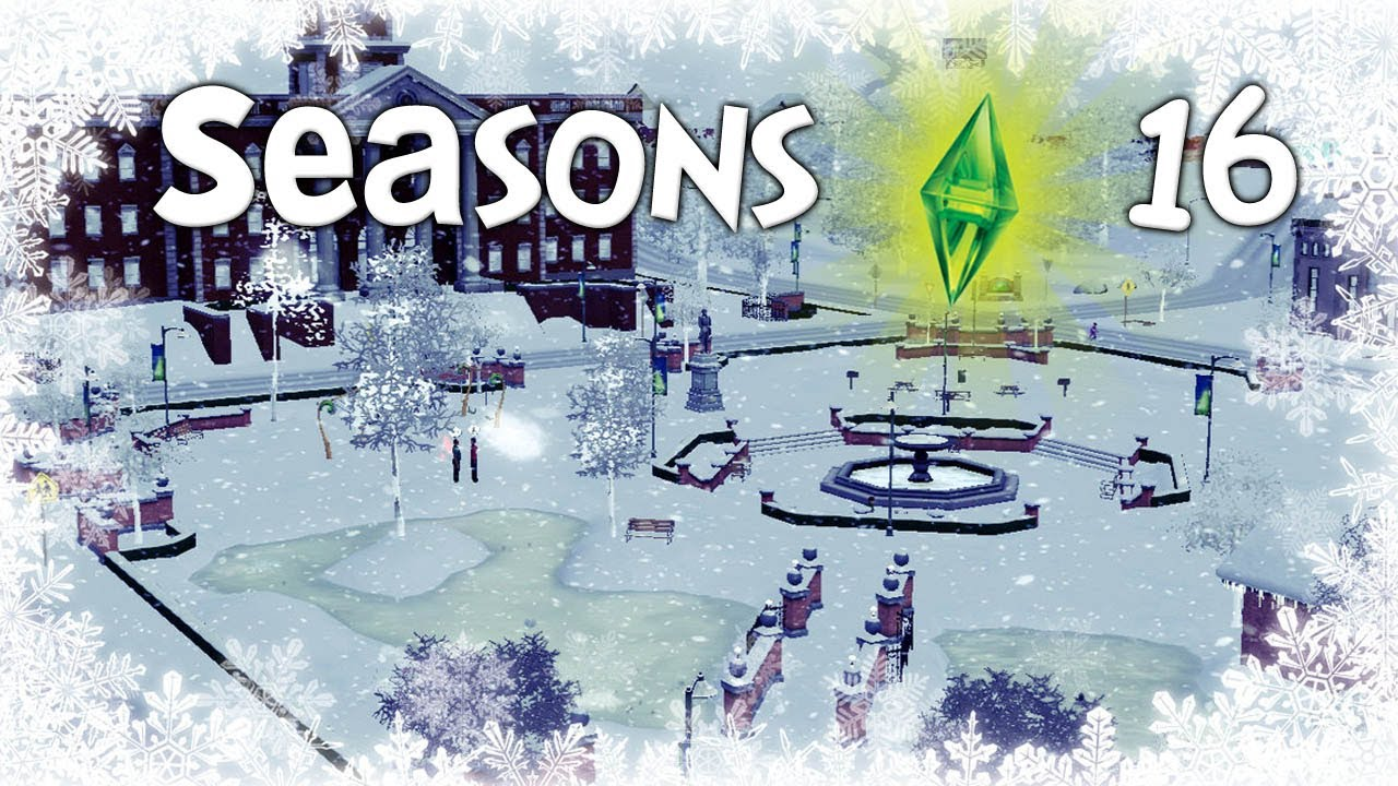 Let's Play The Sims 3 Seasons - (Part 16) - Christmas Tree - YouTube