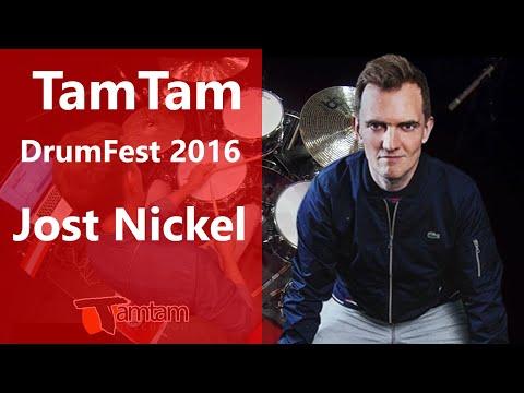 Jost Nickel - TamTam DrumFest Sevilla 2016 - Meinl Cymbals