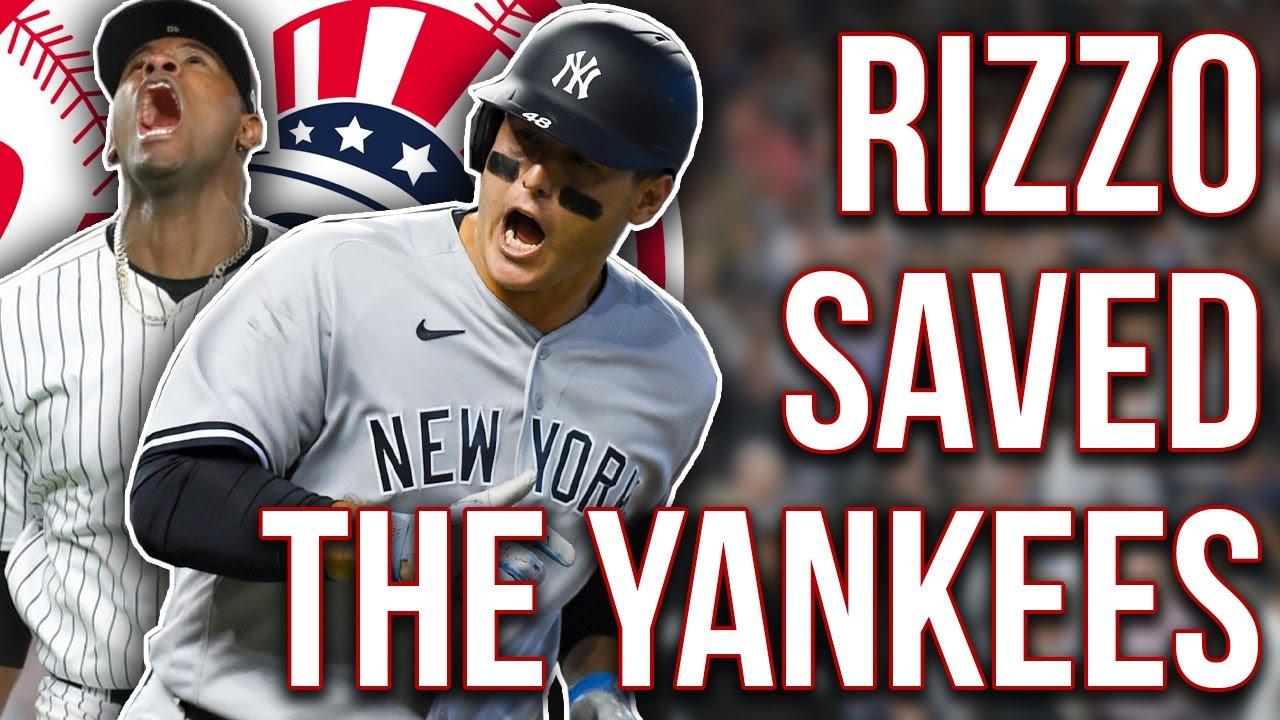 Anthony Rizzo SAVED the Yankees! HUGE Luis Severino injury update, Jameson Taillon (Yankees recap)