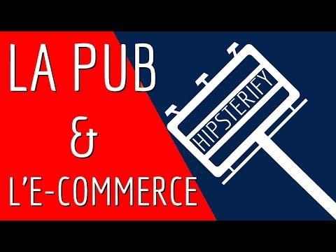La pub, l'e-commerce et une chemise Hipster