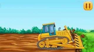 Мультфильм для мальчиков трактор машинки.