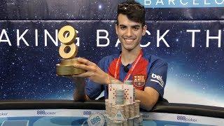 888Live in Barcelona Champion Luigi Andrea Shehadeh