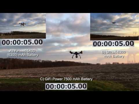 Yuneec Q500 Typhoon - Battery Endurance Competition