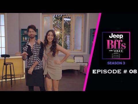 BFFs With Vogue S03 | Kiara Advani's Rugged Crush-List Revealed | Shahid Kapoor | Kabir Singh