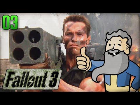"Fallout 3 Gameplay Walkthrough Part 3 - ""BANDITS WITH BAZOOKAS!!!"" 1080p HD"