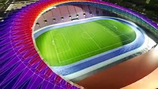Презентационный проект стадиона