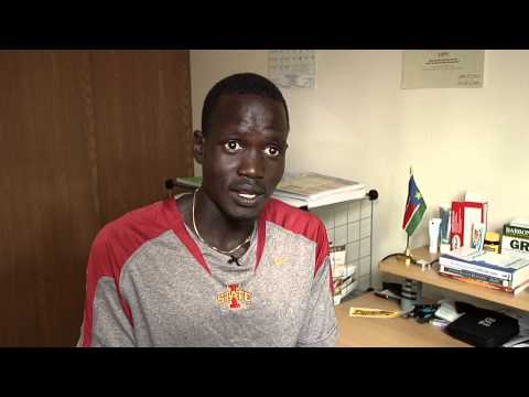 South Sudan Runner gets to compete in Olympics....Breaking News Story by Aron Ranen