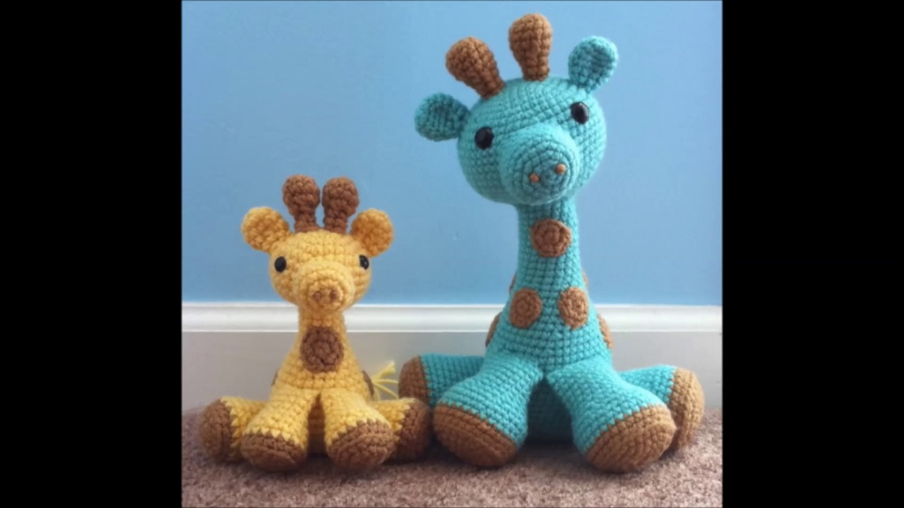 crochet giraffe - YouTube