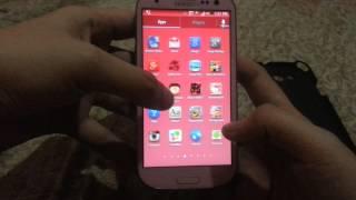 samsung s3 pink- shv e210L