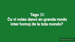 30a Tago – Ĉu vi volas danci en granda rondo inter homoj de la tuta mondo?  #30DRYC
