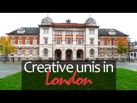 CREATIVE unis in London - overview of UAL, Ravensbourne. Study in the UK