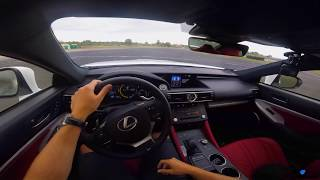 Lexus RC-F (2017) drift