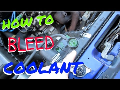 HOW TO BLEED COOLANT !  HSG EP. 5-6