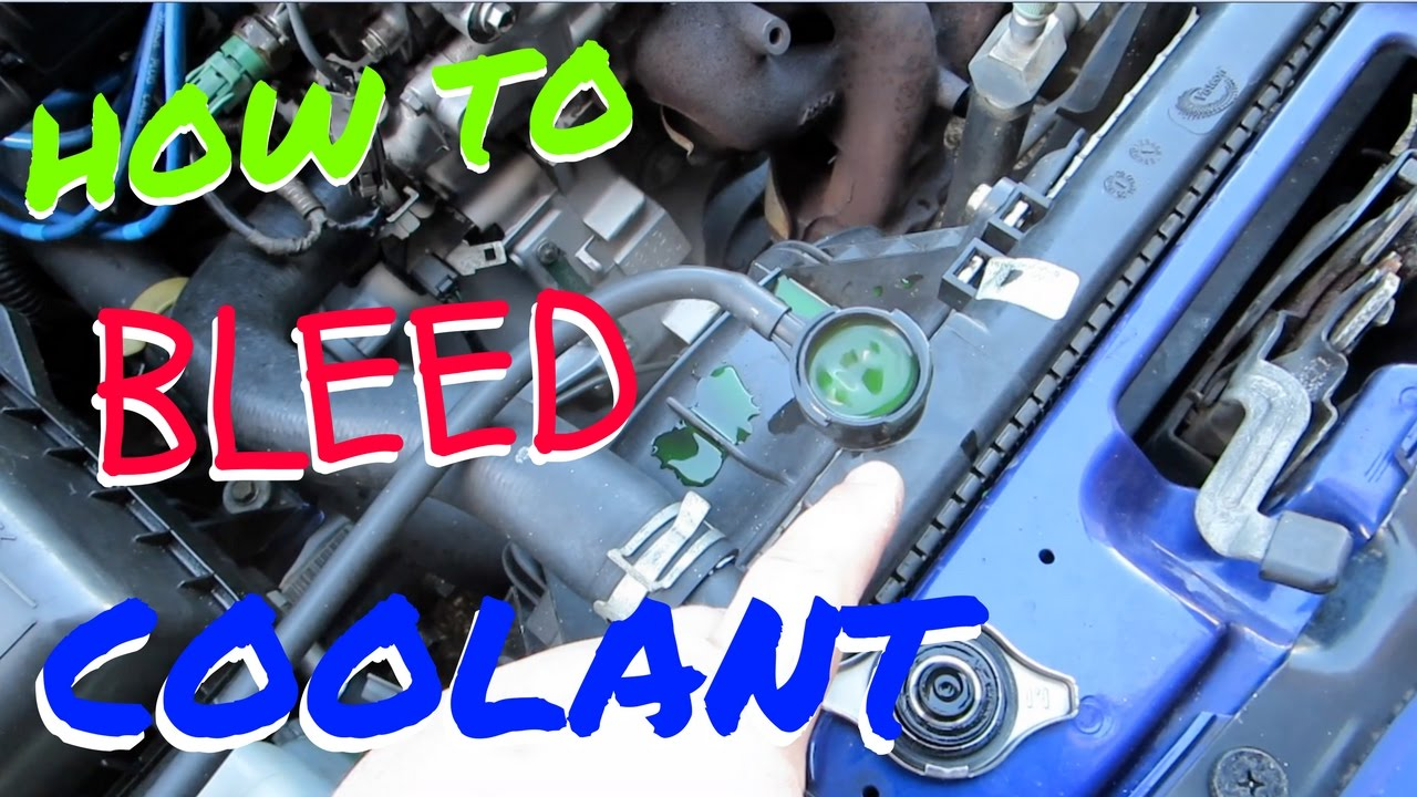 HOW TO BLEED COOLANT ! HSG EP. 5-6 - YouTube