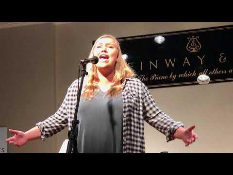 Natalie Brown 2017, Beverly Milders Musical Arts Fall Recital.