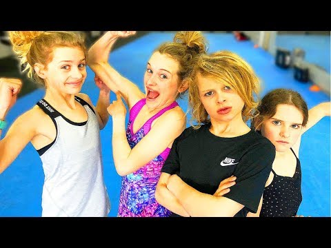 ULTIMATE GYMNASTICS CHALLENGE - SIS VS BRO FAMILY EDITION - WHOS THE FITTEST OF THE NORRIS NUTS?