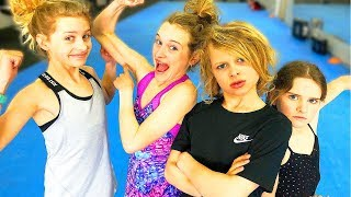 ULTIMATE GYMNASTICS CHALLENGE - SIS VS BRO FAMILY EDITION - WHO'S THE FITTEST OF THE NORRIS NUTS?