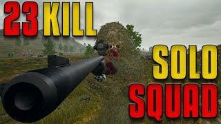 23 Kill Solo Squad - Taking Every Fight! | PUBG