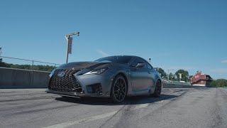 homepage tile video photo for Lexus RC F Track Edition at Lightning Lap 2019