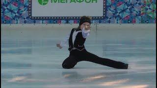 """Марк Соколов  в шоу """"Королевы Льда"""" на Красной Площади 11.01.19"""