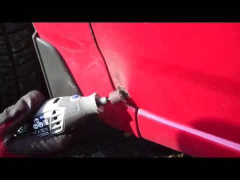 Why I Buy A Dremel Multitool: How To Remove Rust From Car Paint Using Dremel 3000 Multitool