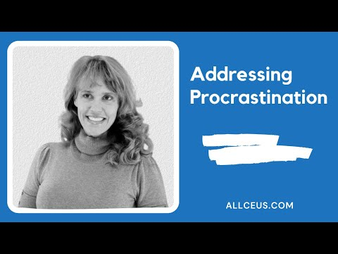 174  Addressing Procrastination Counselor Continuing Education