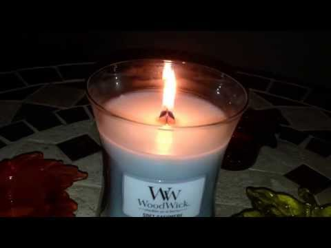 █▬█ █ ▀█▀ Wood Wick Candle Review PlusWick-GREAT SOUND