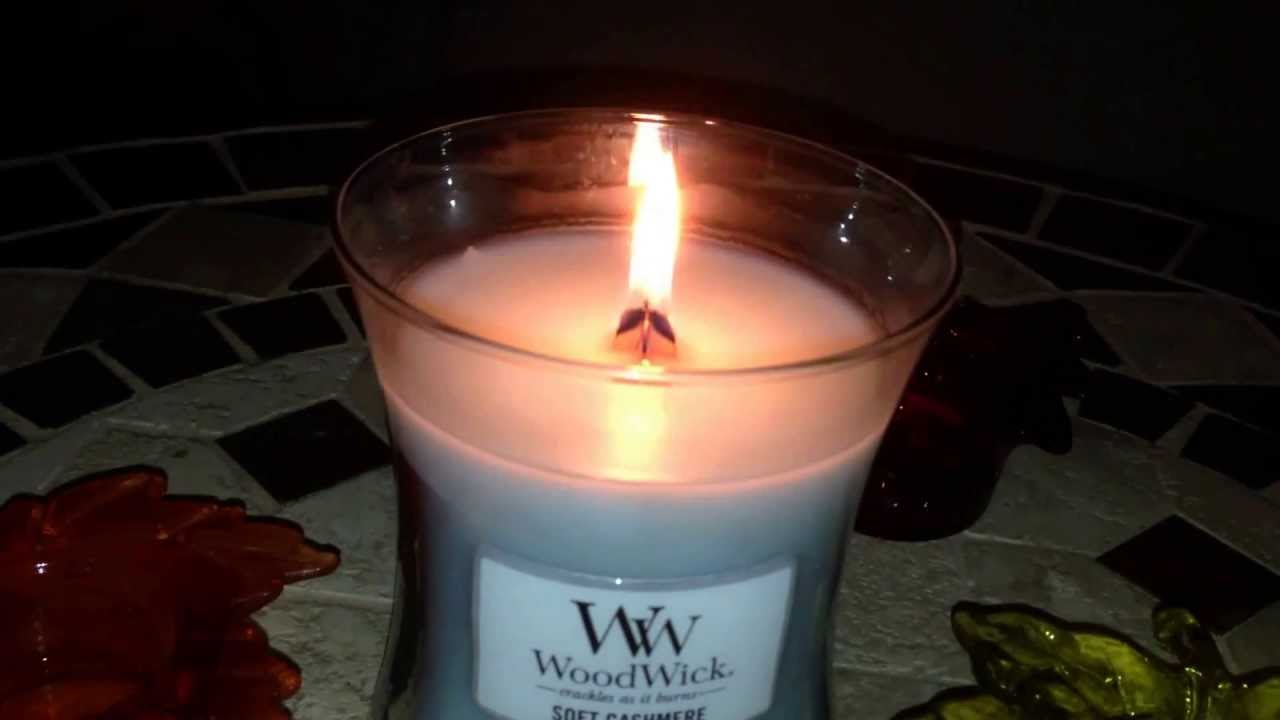 Wood Wick Candle Review Pluswick Great Sound Youtube