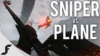 Repeat youtube video SNIPER vs PLANE - Battlefield 1