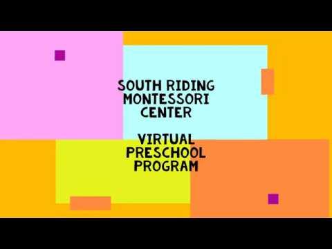 South Riding Montessori Center Virtual Preschool Program